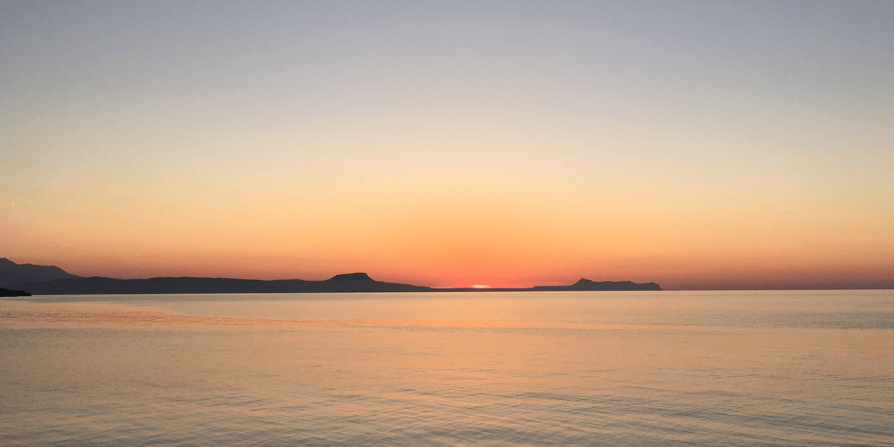 Crete Craft Beer Blog - Sunset In Rethymno