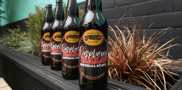 Ghost Whale Big Bottle Offer - Cigar City Raspberry Halo.