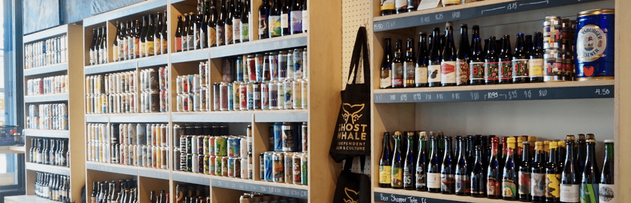 Ghost Whale Craft Beer Shop